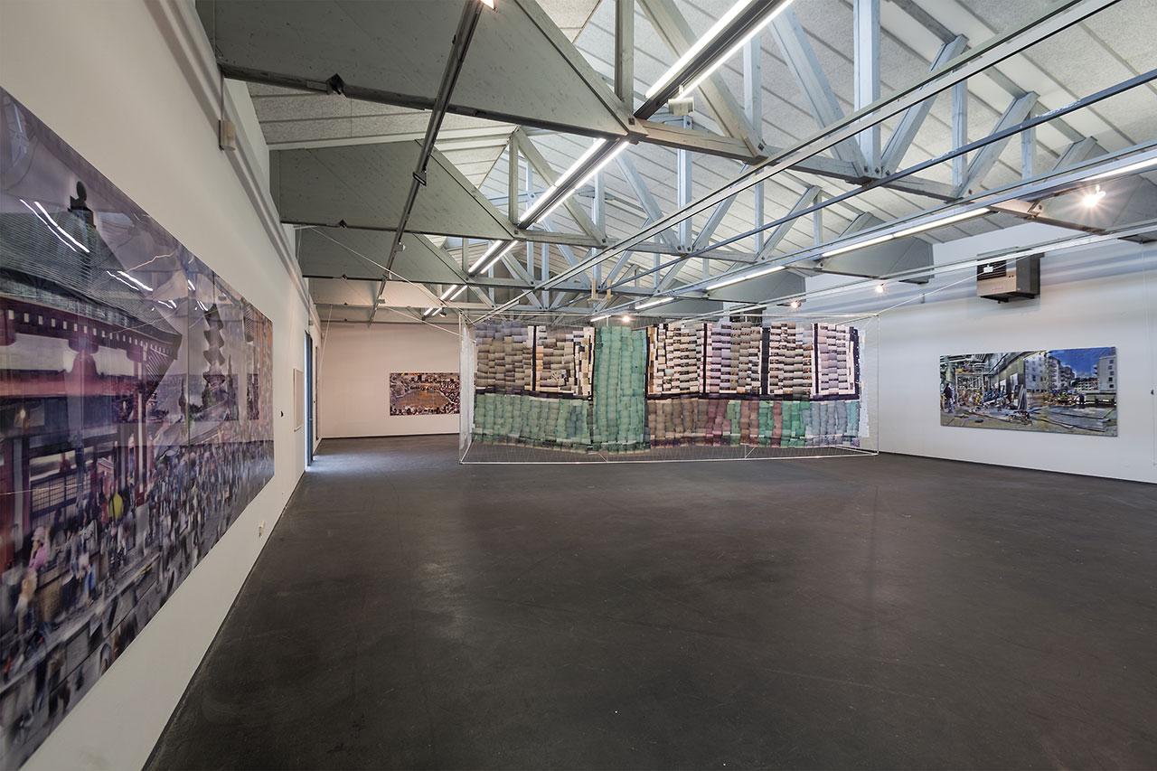 Installation von Katharina Struber in Atterseehalle