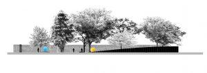 Gedenkstätte Waldniel-Hostert Ansicht